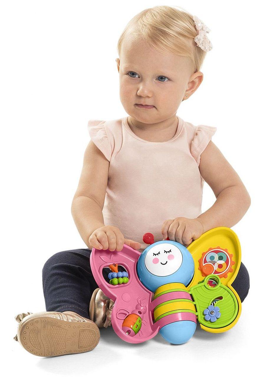 Brinquedo Infantil Babyleta Rosa Com Luz e Som - Tateti