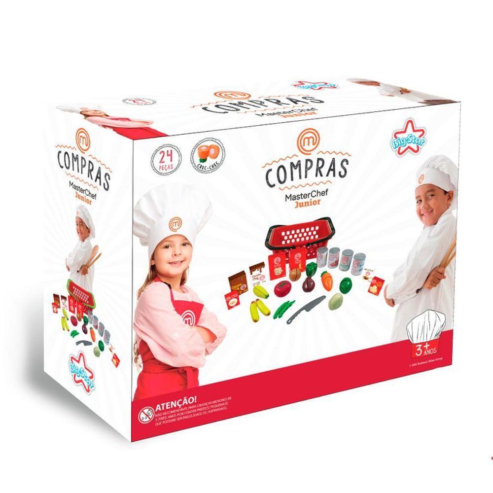 Brinquedo Infantil Crec Crec Compras MasterChef - Big Star