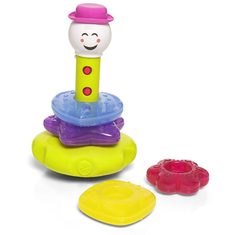 Brinquedo Infantil Didático Torre Lumina com Som - Calesita 881