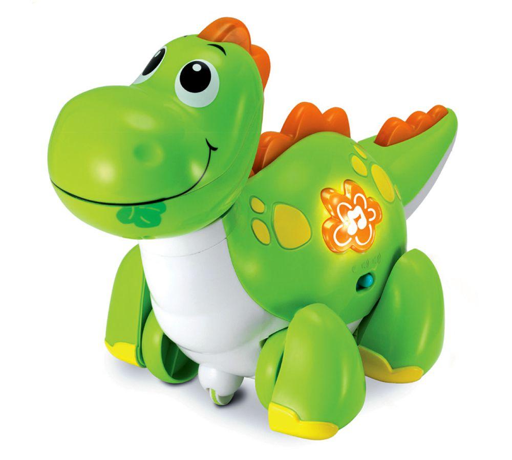 Brinquedo Infantil Dino Ande Comigo Com Som - YesToys