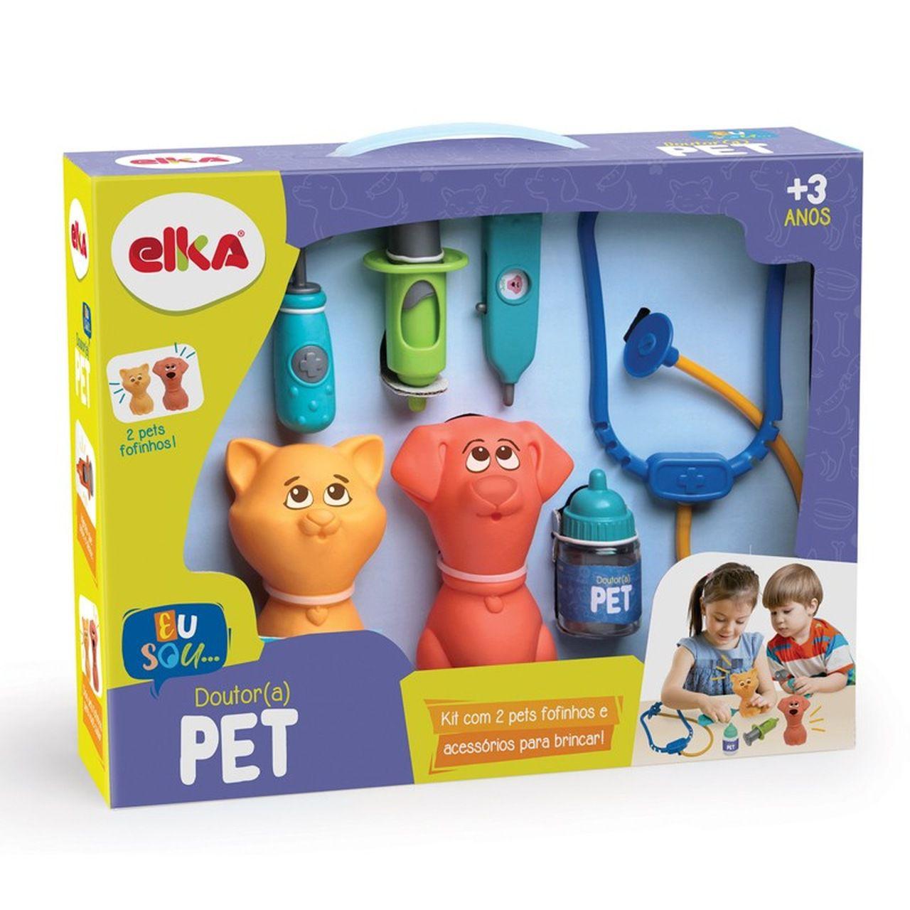 Brinquedo Infantil Doutor (a) Pet - Elka