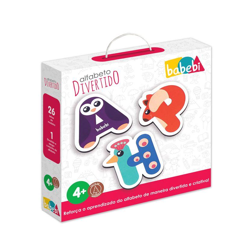 Brinquedo Infantil Educativo Alfabeto Divertido - Babebi