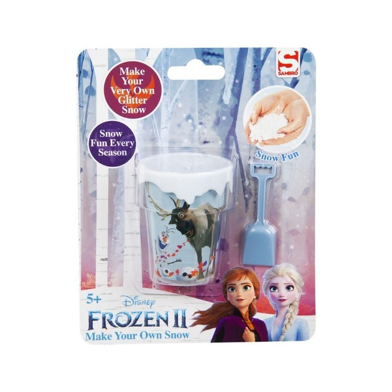 Brinquedo Infantil Faça Sua Neve Frozen 2 - Toyng