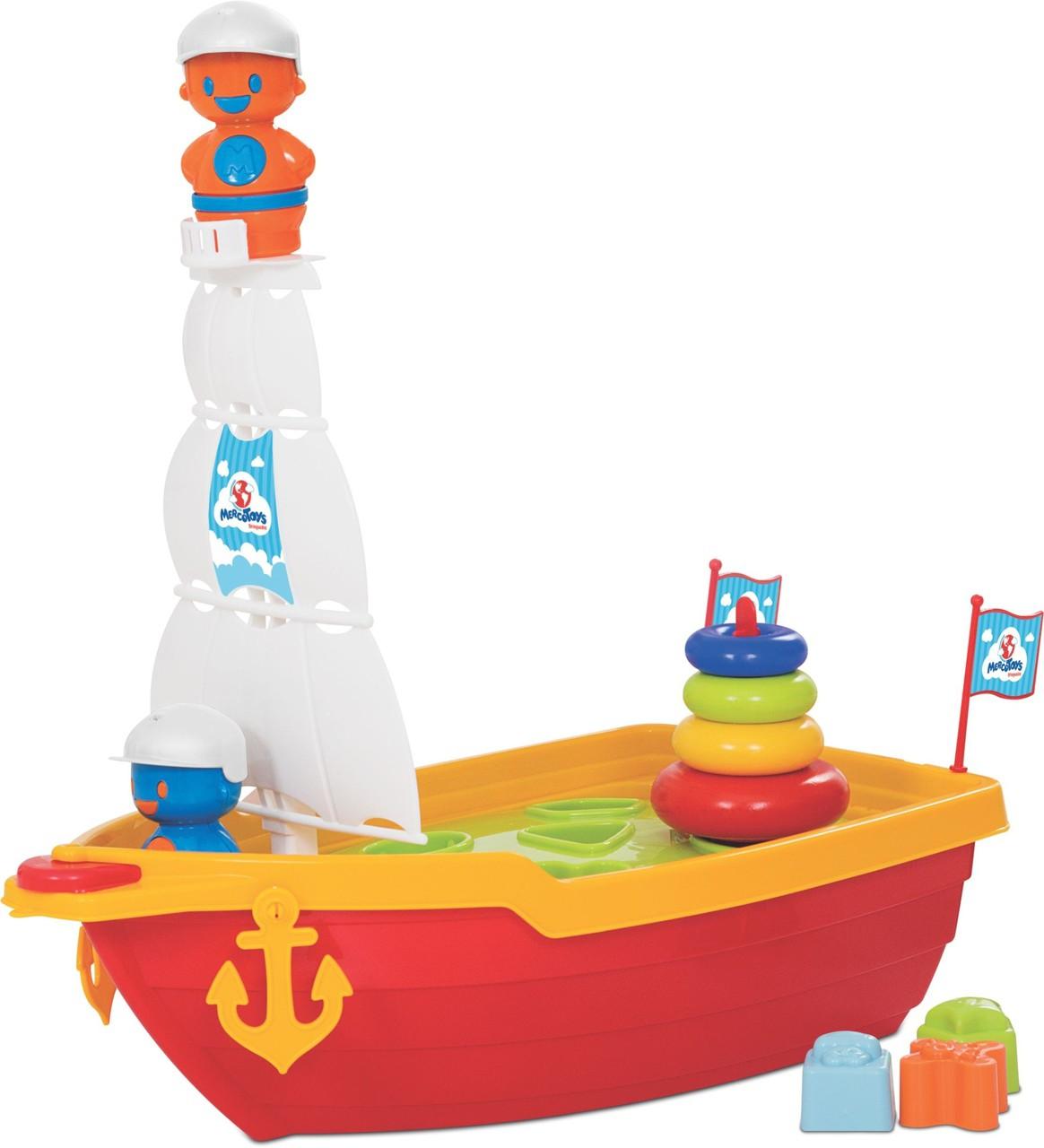 Brinquedo Infantil Mega Barco Didático - Mercotoys 423