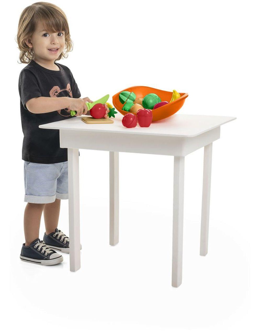 Brinquedo Infantil Crec Crec Legumes e Frutas - Tateti 303