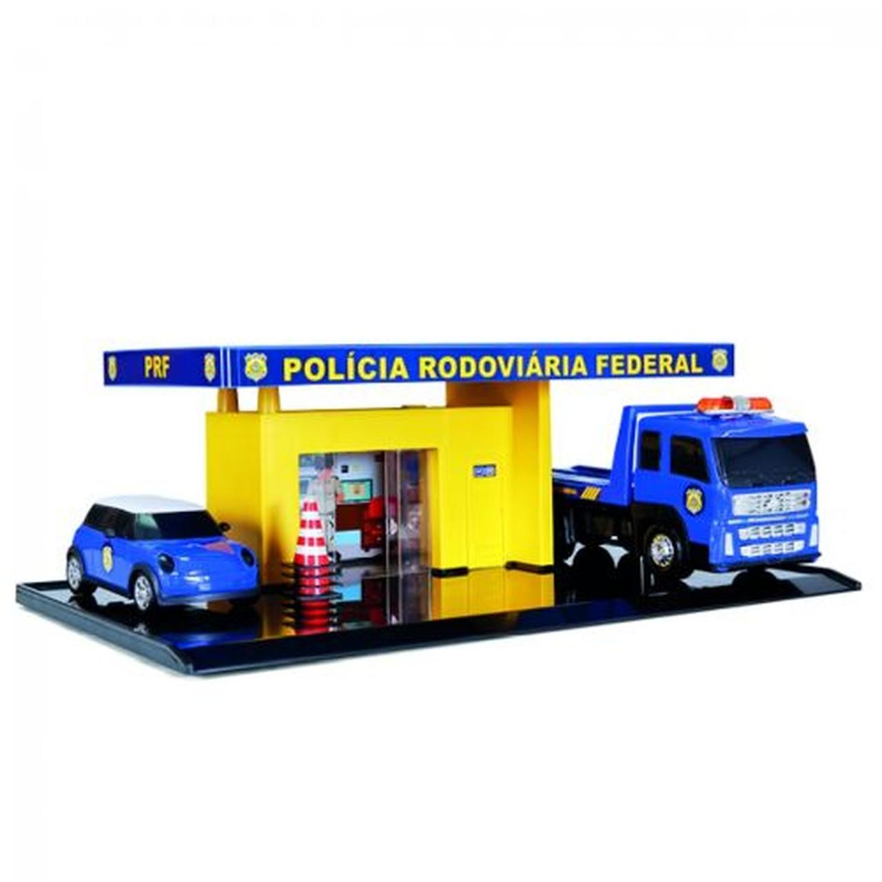 Brinquedo Infantil Poliposto Polícia - Poliplac 5900