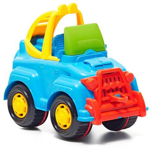 Brinquedo Infantil Rodadinhos Jipe Cor Sortido - Tateti