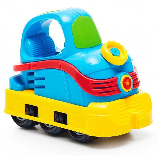 Brinquedo Infantil Rodadinhos Locomotiva Cor Sortido  Tateti