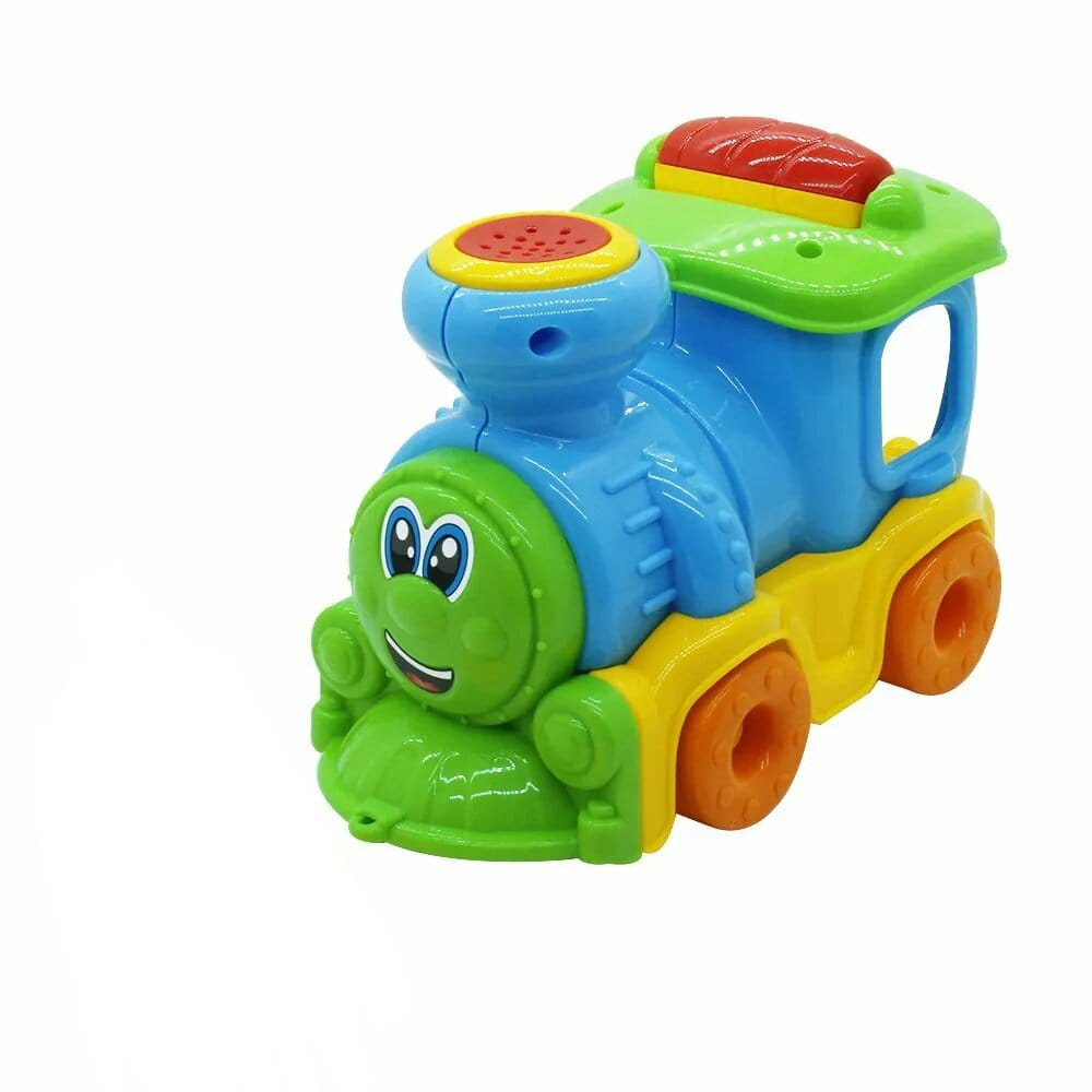 Brinquedo Infantil Trem João Fumaça Com Som - Maral 4028
