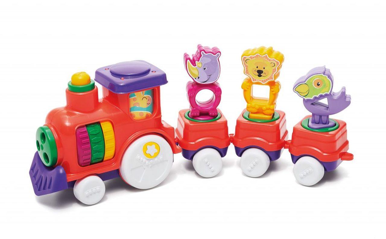 Brinquedo Infantil Zoo Trem Cor Sortida - Tateti