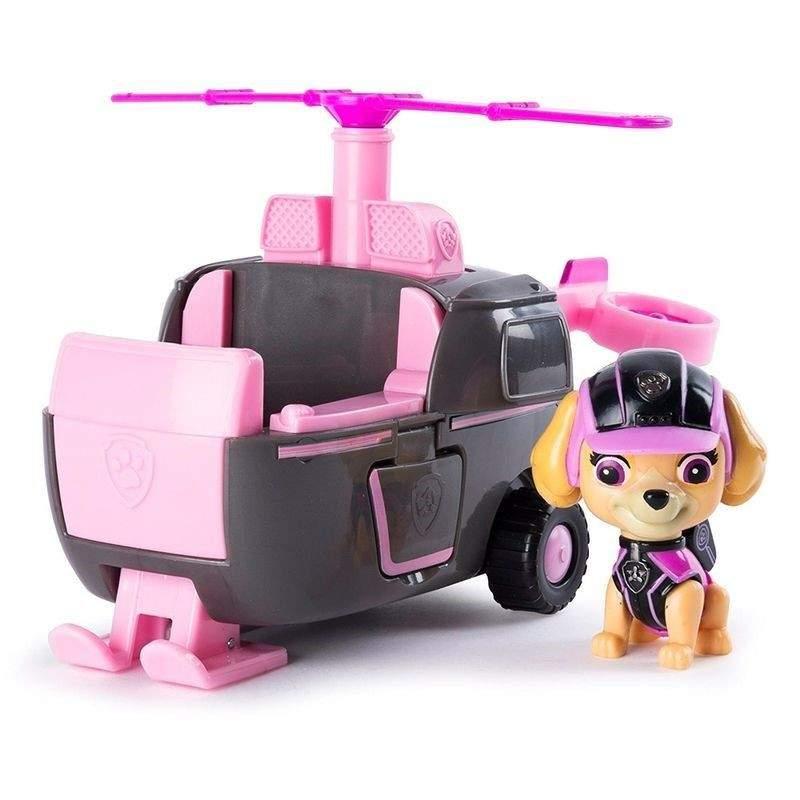 Brinquedo Patrulha Canina Mission Paw Boneco Veiculo Skye - Sunny