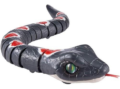 Brinquedo Robo Alive Cobra com Movimento Realístico Candide