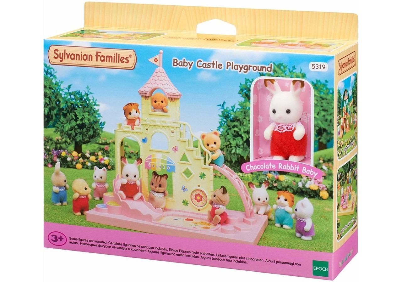 Brinquedo Sylvanian Families Playground do Castelo - Epoch