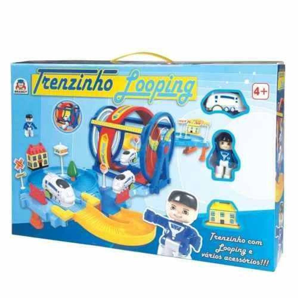 Brinquedo Trenzinho Looping 305 Braskit