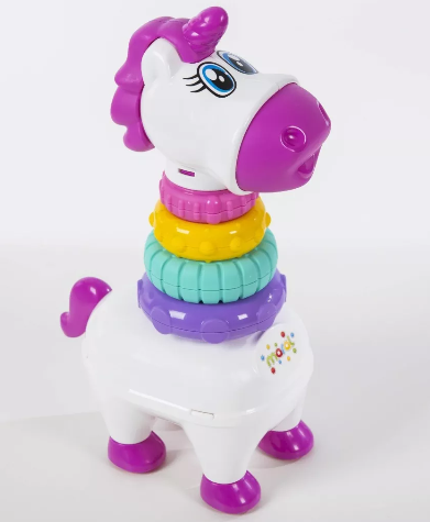 Brinquedo Eduactivo Unicórnio Baby Pony Empilhavel - Maral