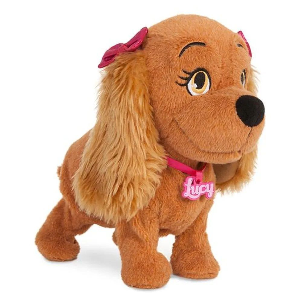 Cachorrinha de Pelúcia Lucy Com Som e Dança - Multikids