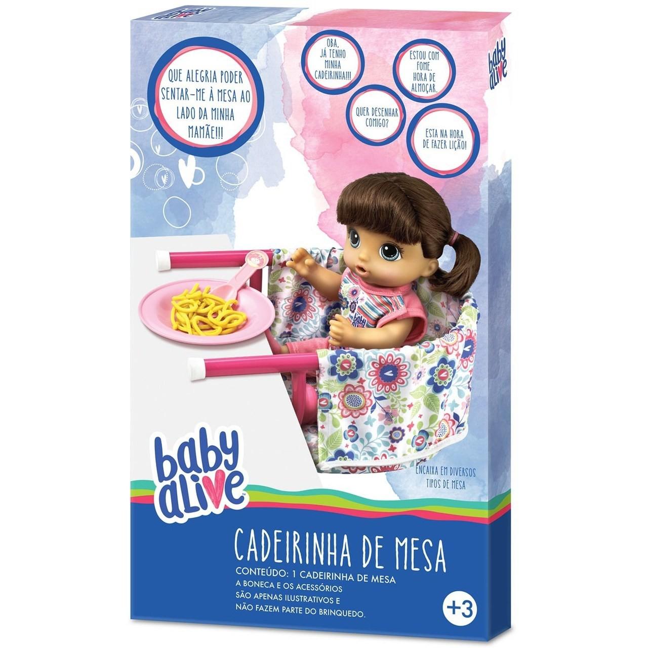 Cadeirinha De Mesa Para Baby Alive - Hasbro
