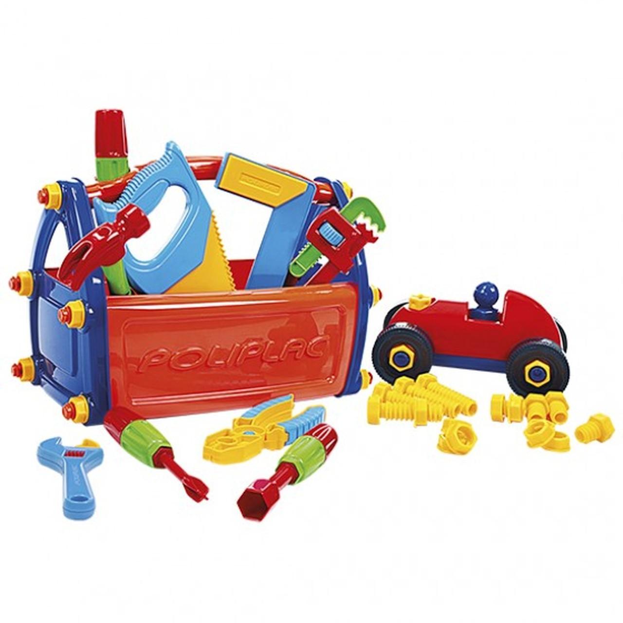 Caixa de Ferramentas Infantil 21 Peças - Poliplac 5931