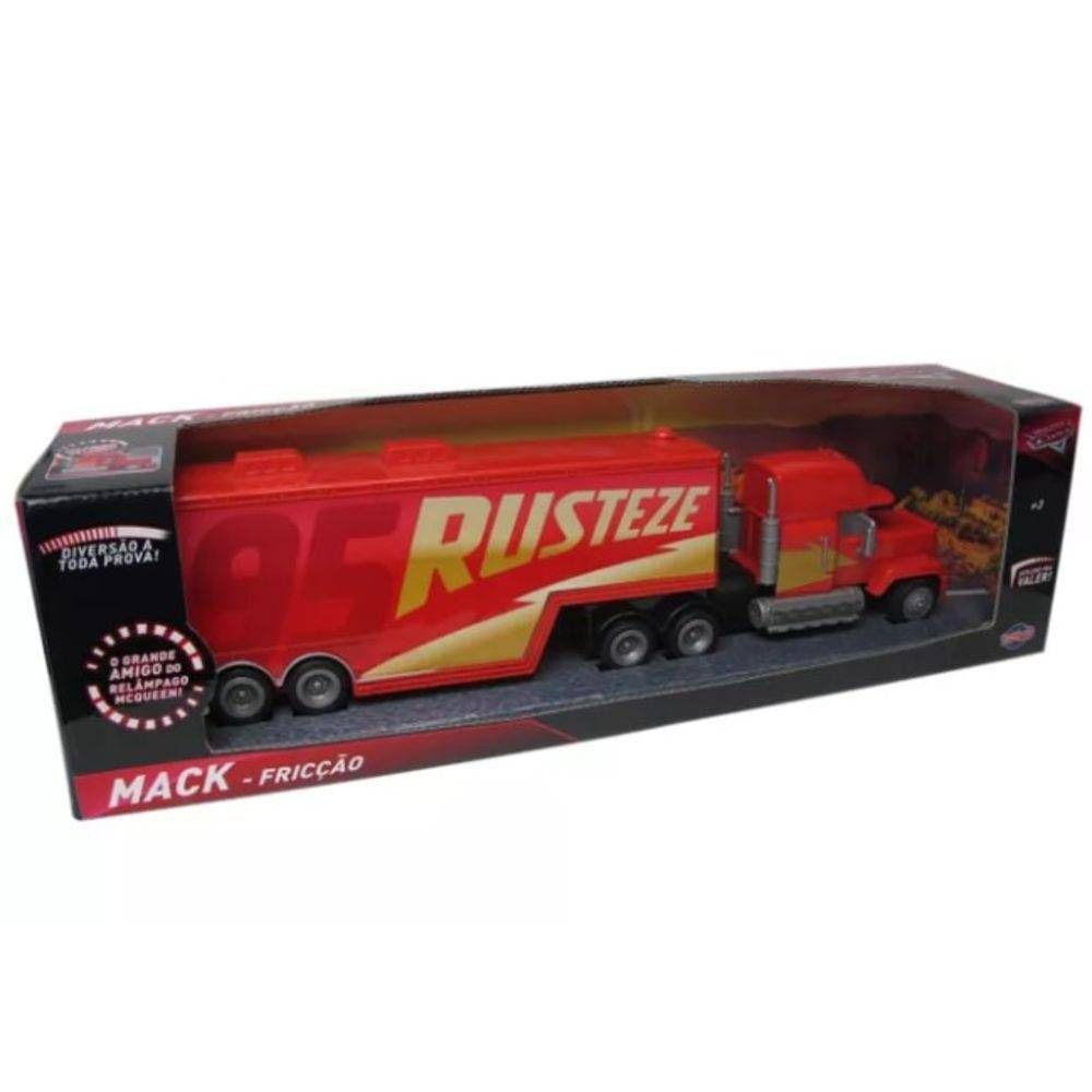 Caminhão Mack Friccção Rusteze Disney Carros - Toyng