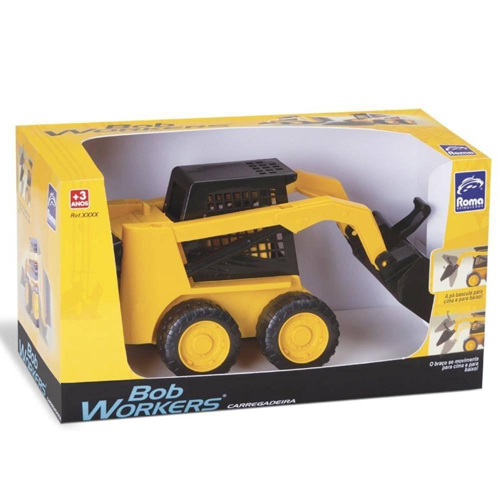 Brinquedo Carregadeira Bob Workers Roma