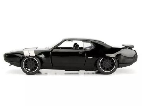 Carro Miniatura Velozes E Furiosos Dom Plymouth Gtx - Dtc