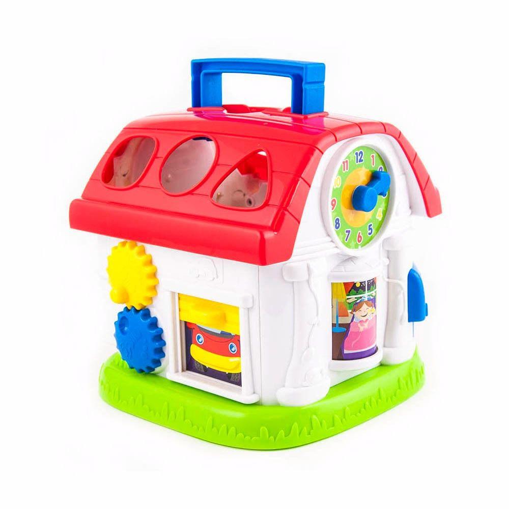 Casinha de Atividades Encaixe As Formas Winfun/Yes Toys +12 Meses