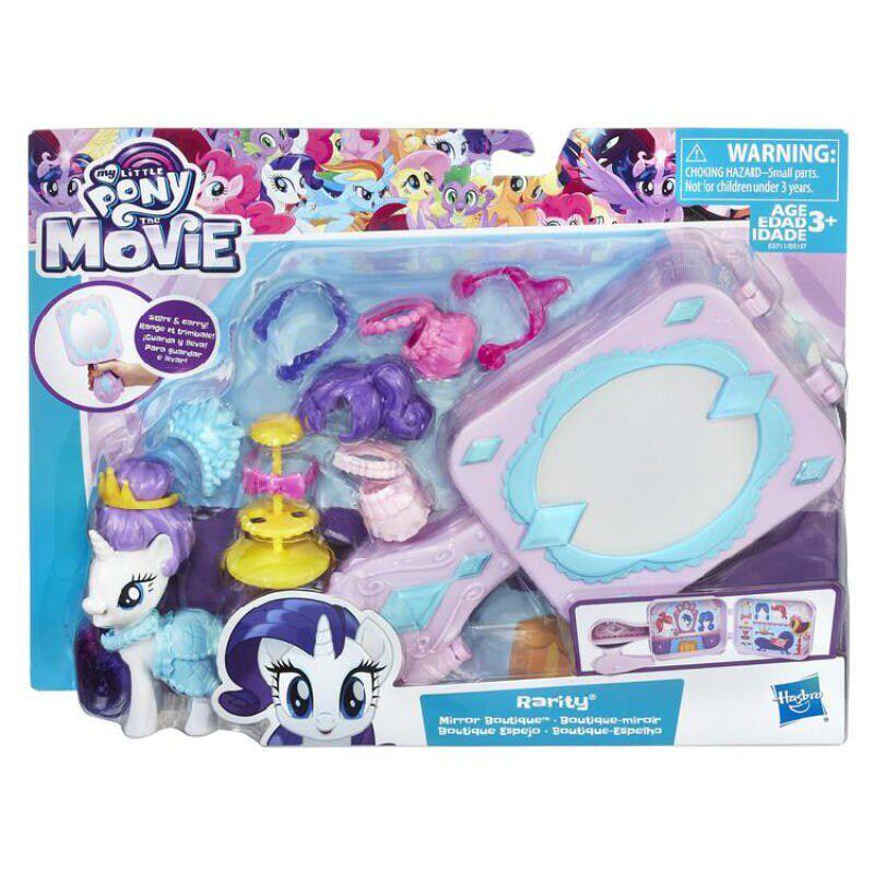Conjunto de Figuras My Little Pony E0187 Hasbro Rarity