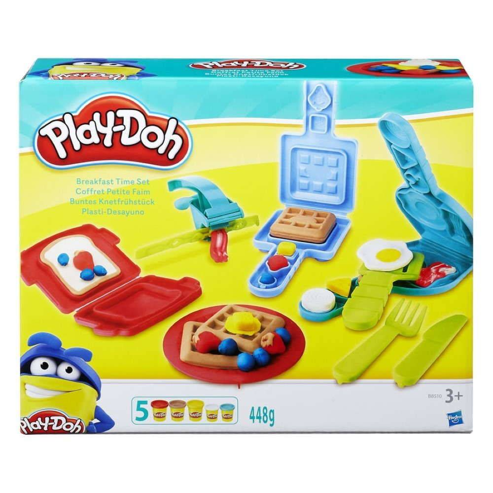 Conjunto Play Doh Super Kit Café da Manhã B6768 - Hasbro