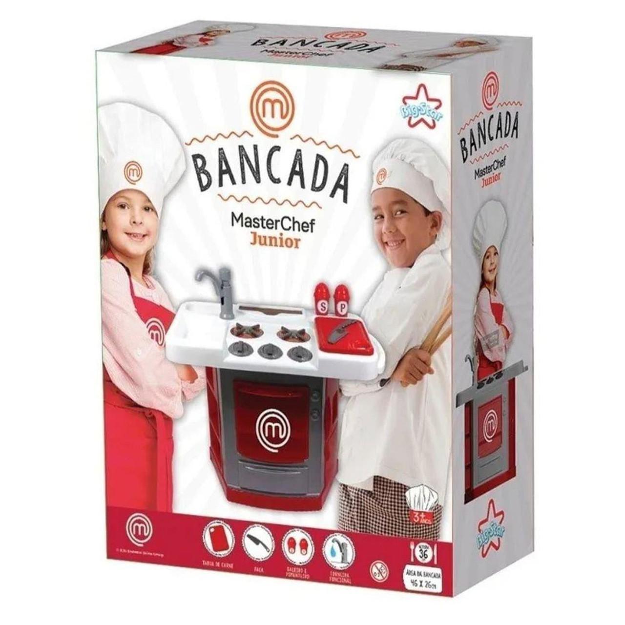 Cozinha Infantil Bancada MasterChef Junior - Big Star