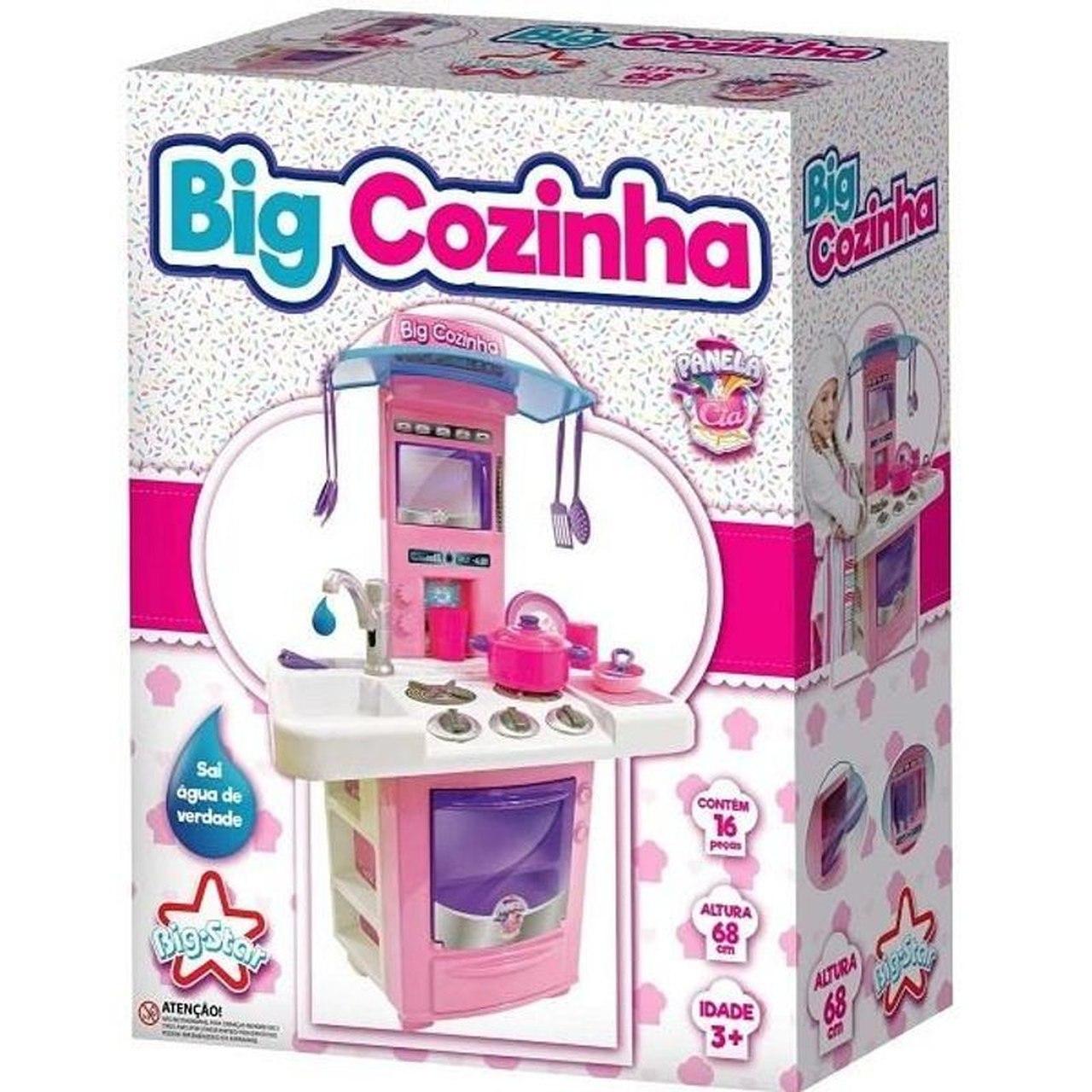 Cozinha Infantil Big Cozinha Fogão - Big Star 630