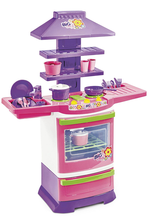 Cozinha Infantil Master Fogão Big Chef - Poliplac 5566
