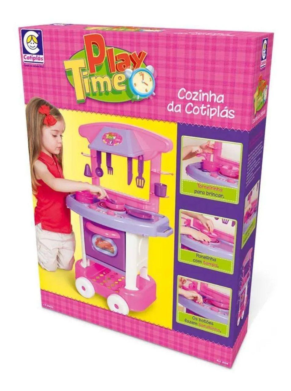 Cozinha Infantil Play Time Cozinha - Cotiplás 2008