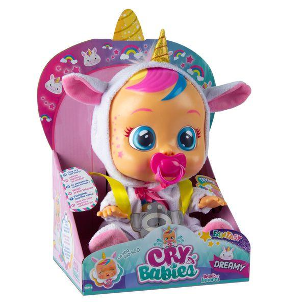 Cry Babies Boneca que Chora Dreamy - Multikids