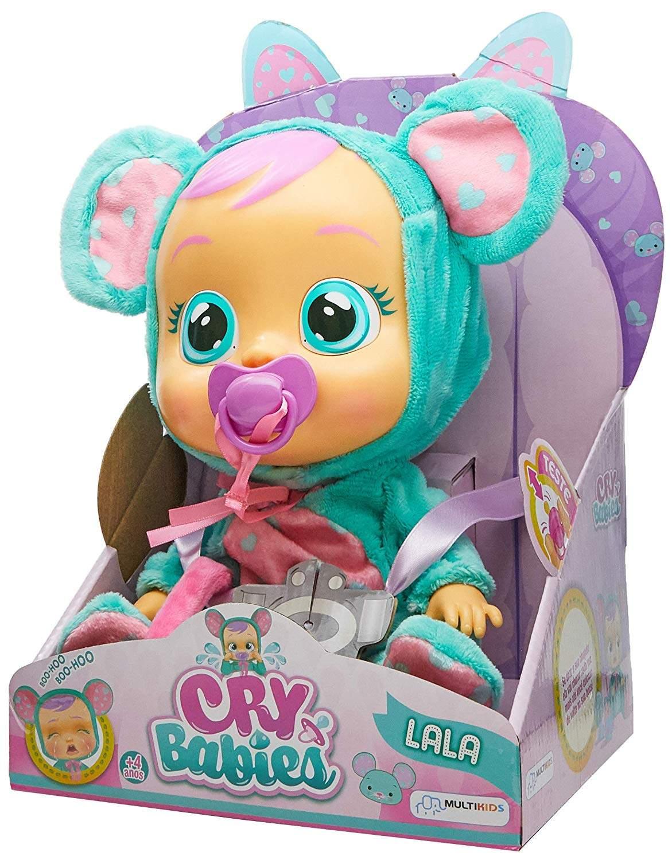 Cry Babies Boneca que Chora Lala - Multikids