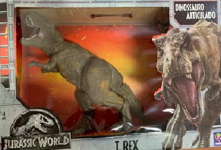Jurassic World Dinossauro T-Rex Gigante 42cm - Mimo