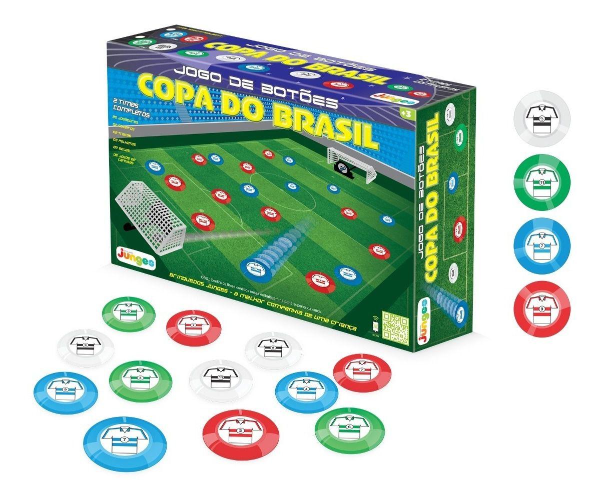 Futebol de Botão Copa do Brasil 2 Times Completos - Junges