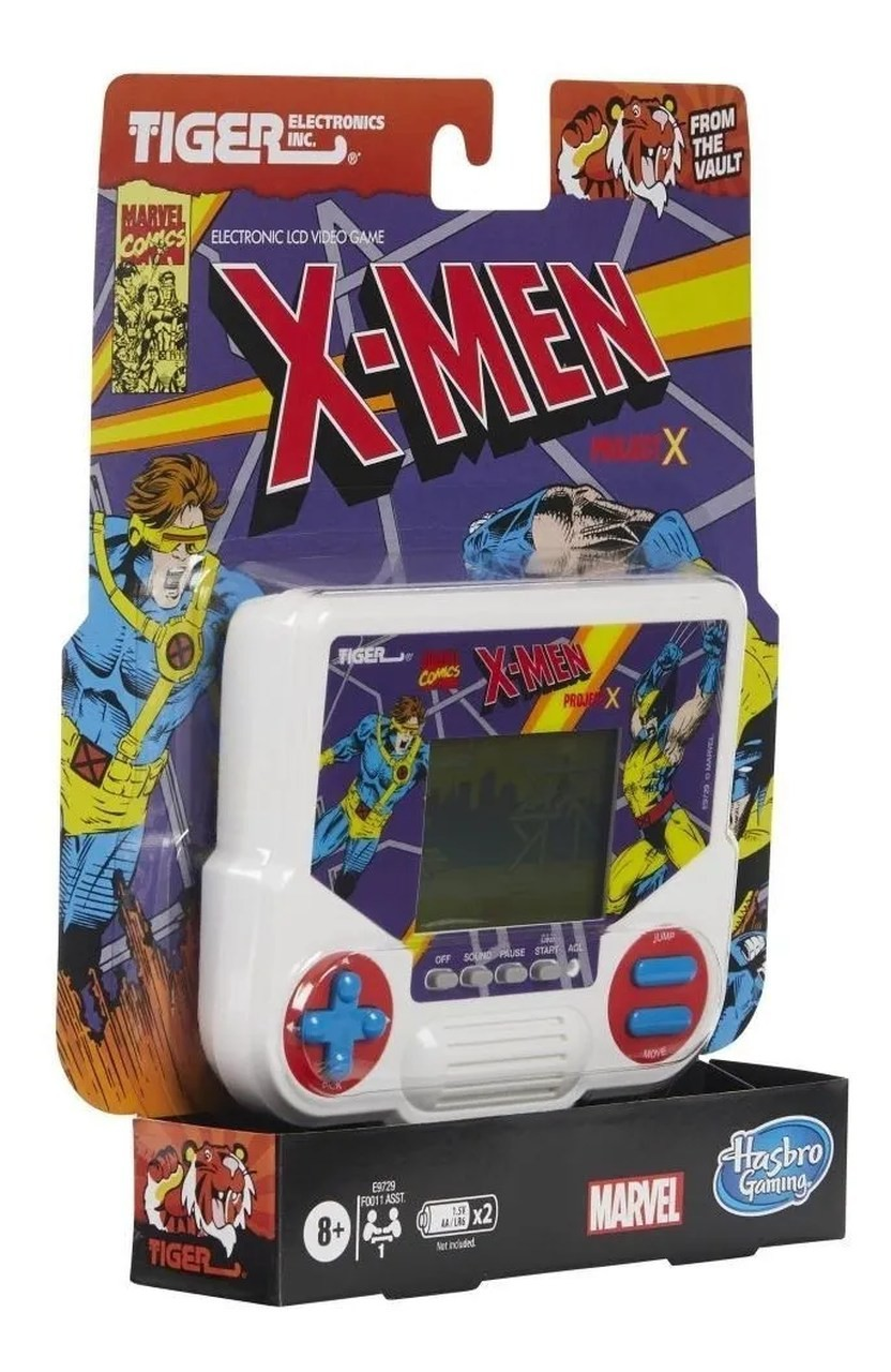 Game Retro X-men Projeto X Tiger Eletronic Retro Lcd - Hasbro