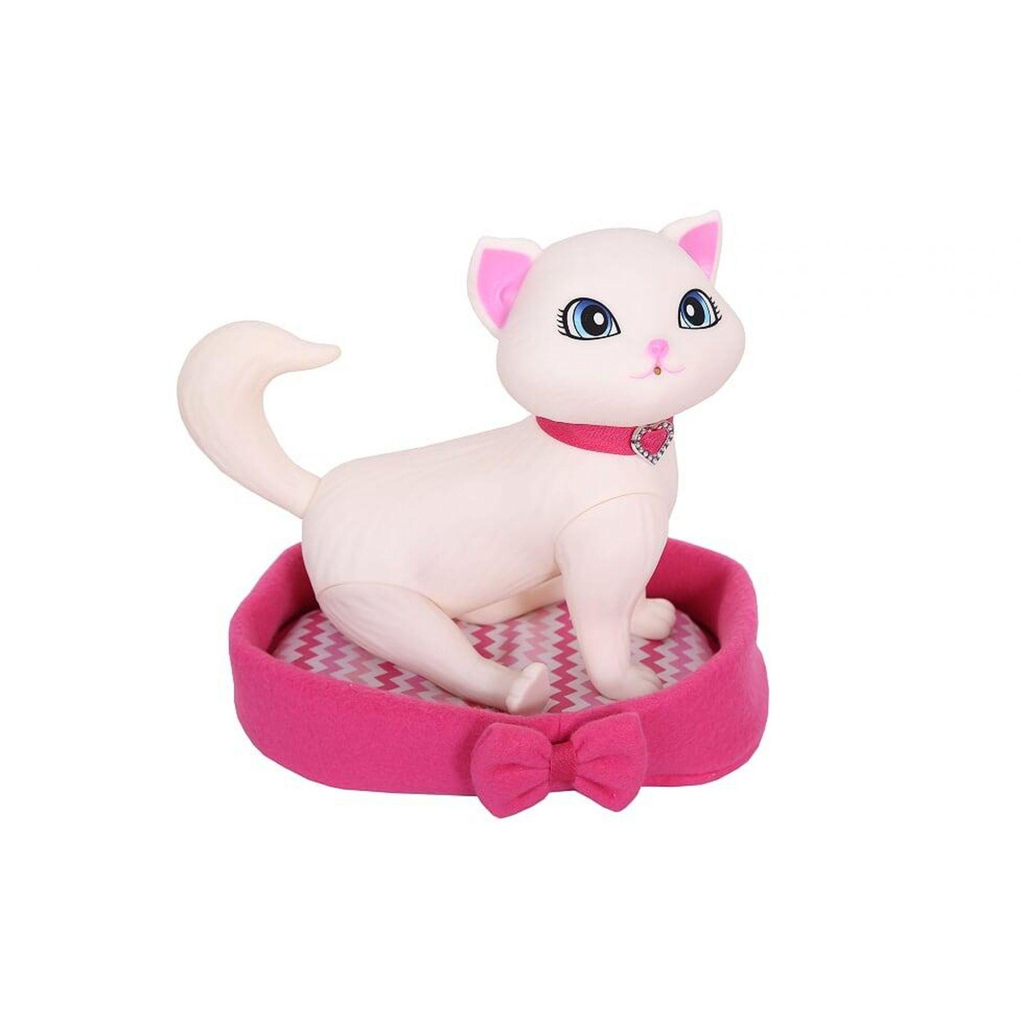Gatinho Pet da Barbie Faz Xixi Cuidados com Blissa - 1258