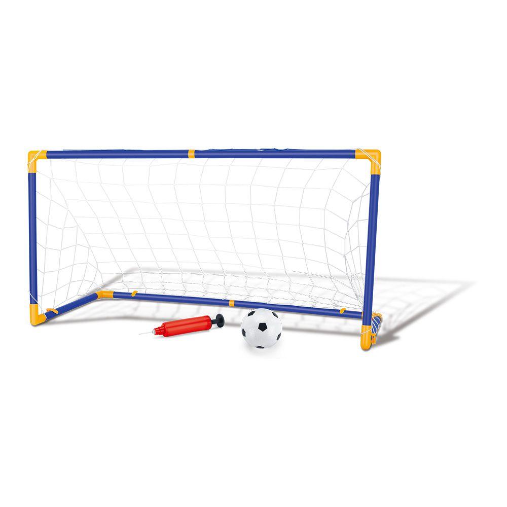 Kit Golzinho de Futebol C/ Rede com 1 Bola Dm Toys - Dmt5075