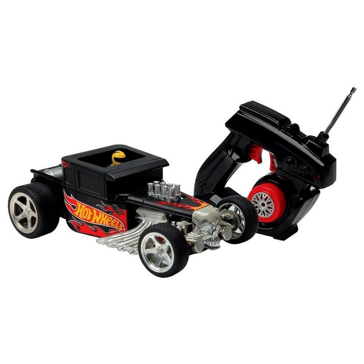 Hot Wheels Carrinho Bone Shaker Controle Remoto Candide 4545