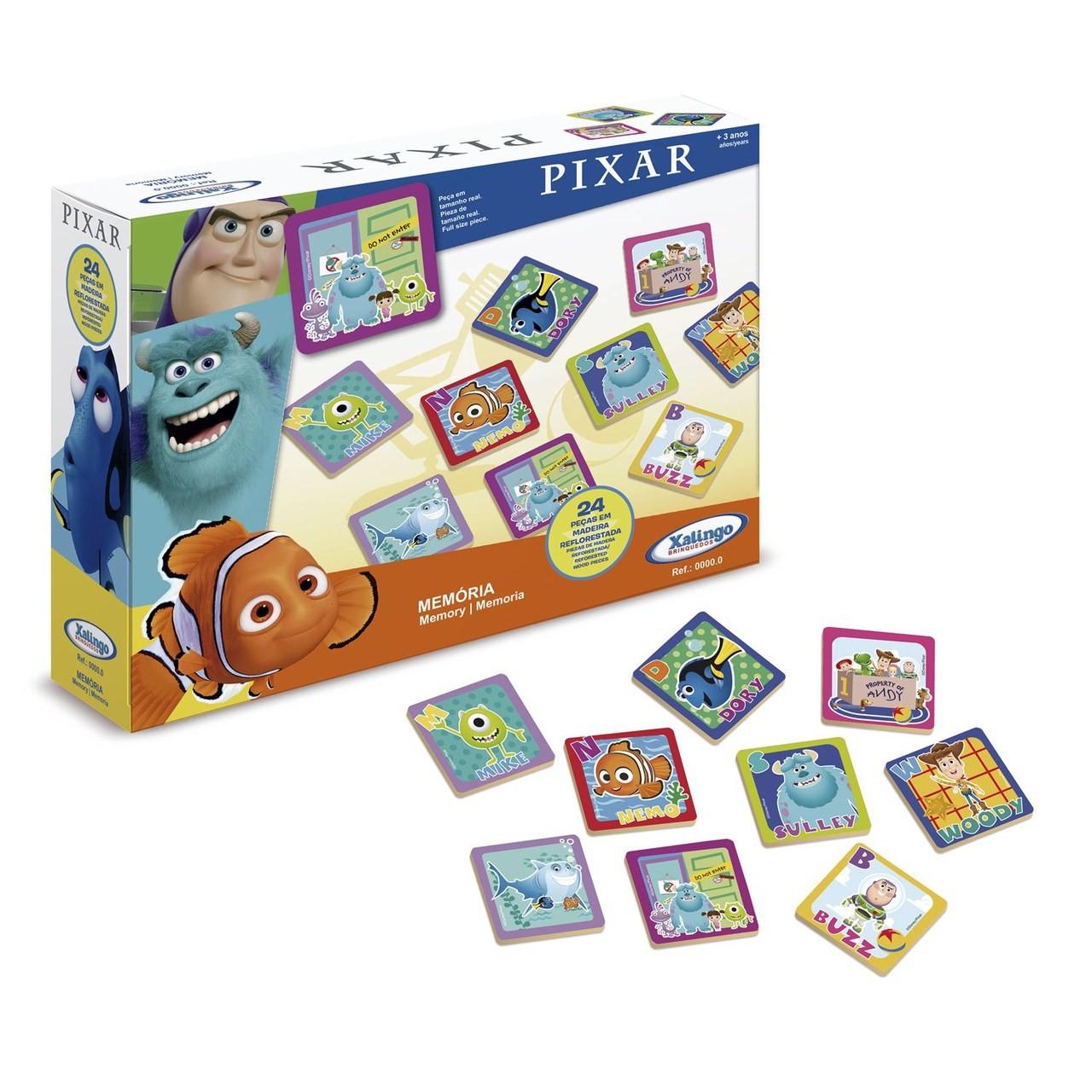 Jogo da Memória Disney Pixar - Xalingo 19432