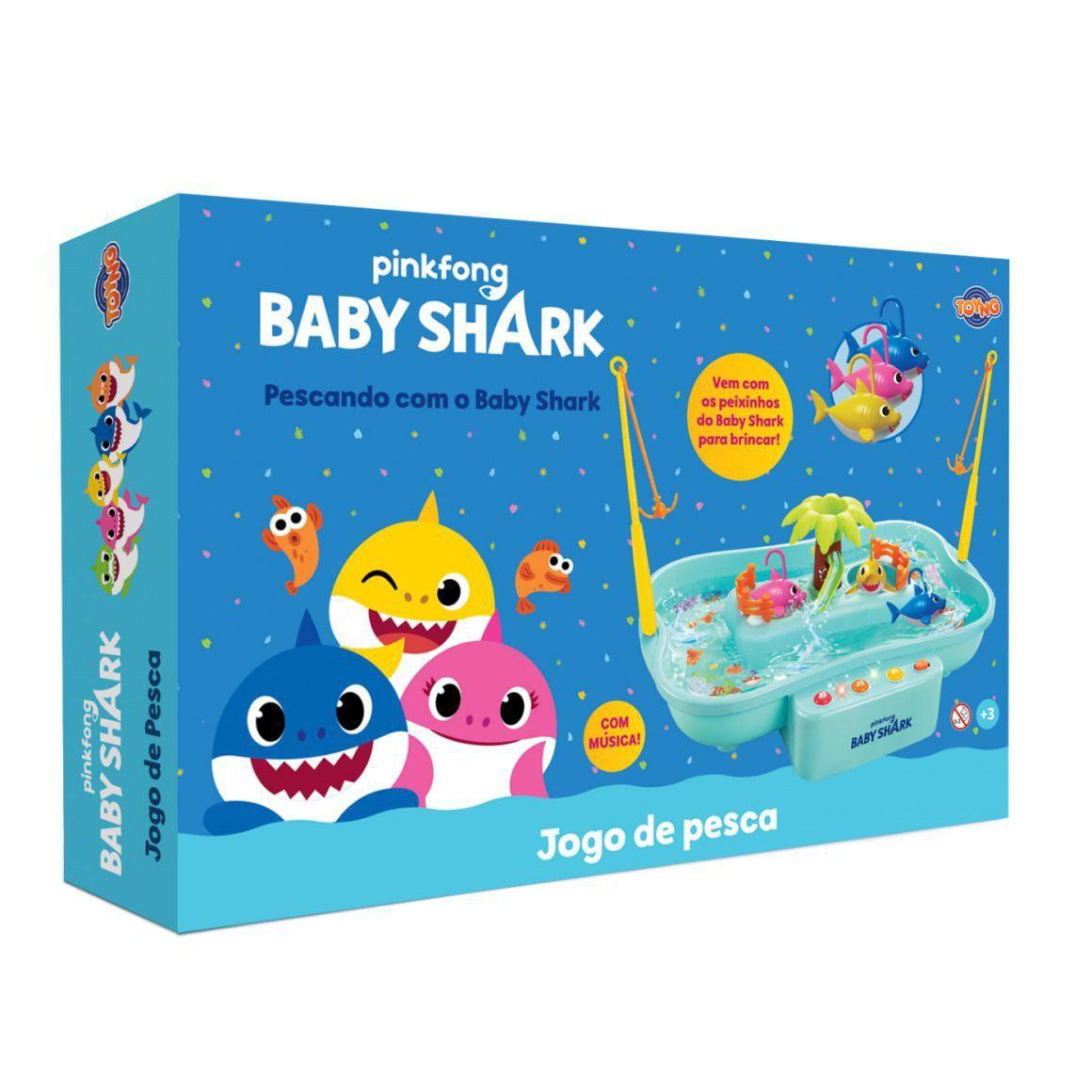 Jogo de Pesca a Pilha Baby Shark - Toyng