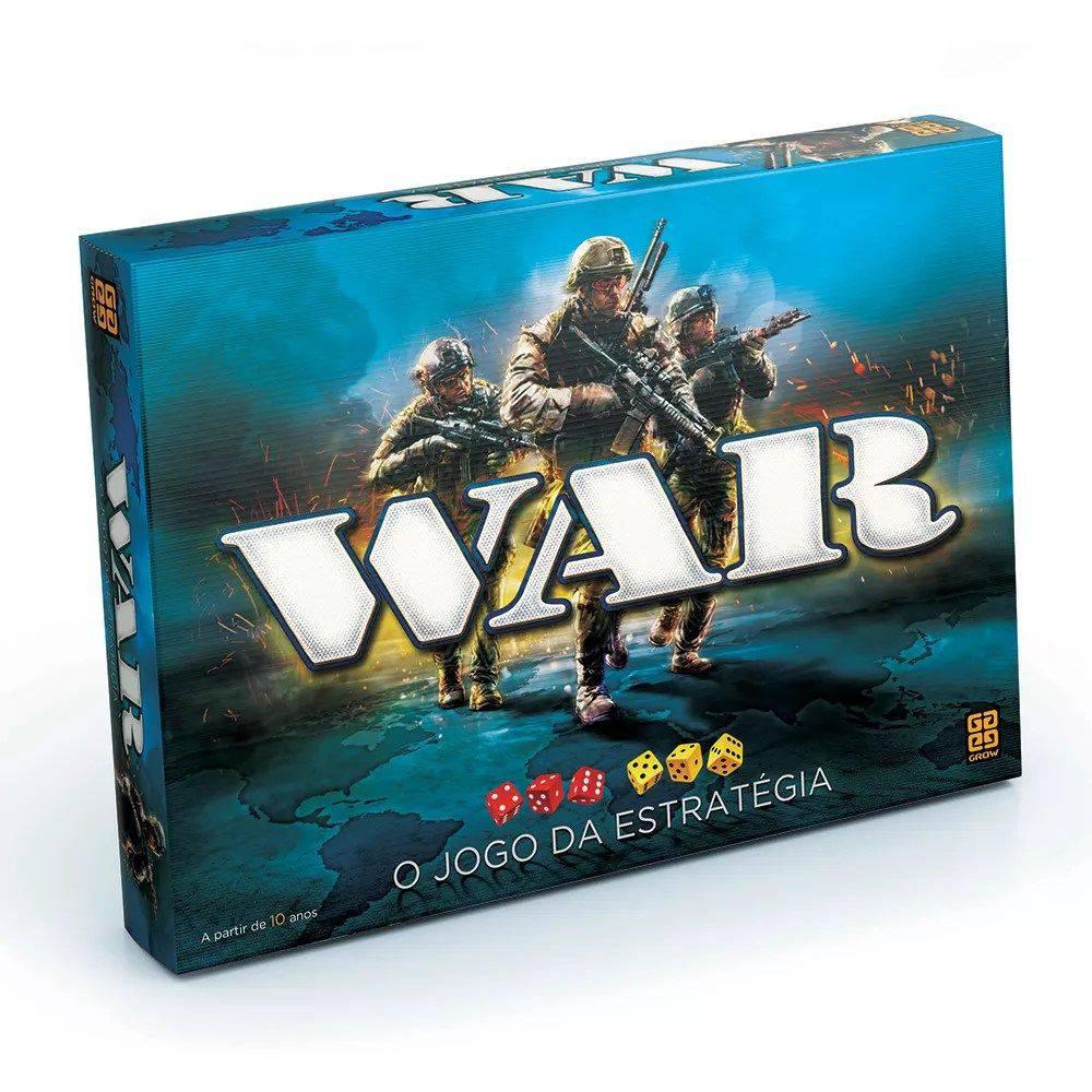 Jogo de Tabuleiro com Estratégia War - 2000 - Grow
