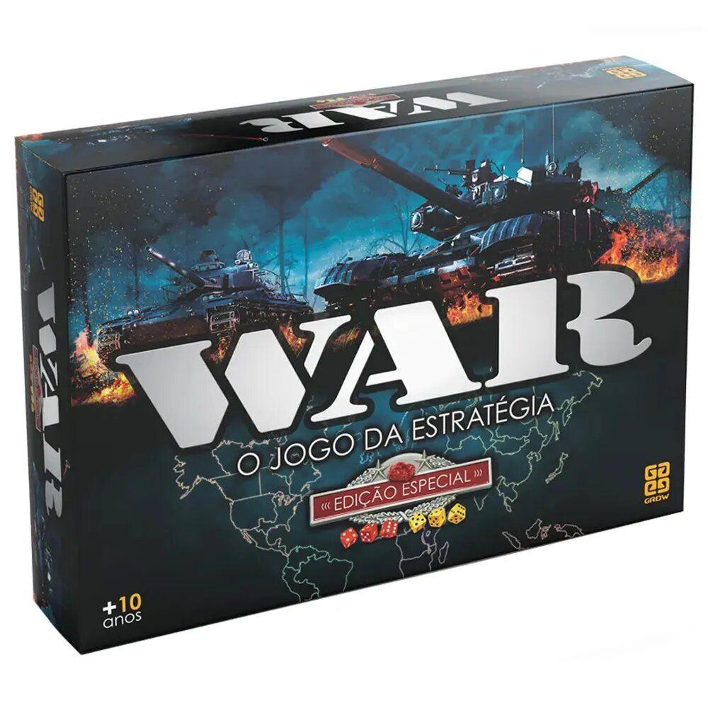 Jogo De Tabuleiro War Edição Especial Original - Grow