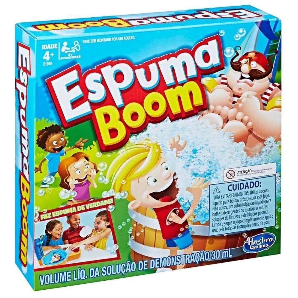 Jogo Espuma Boom Gaming Original - Hasbro E1919