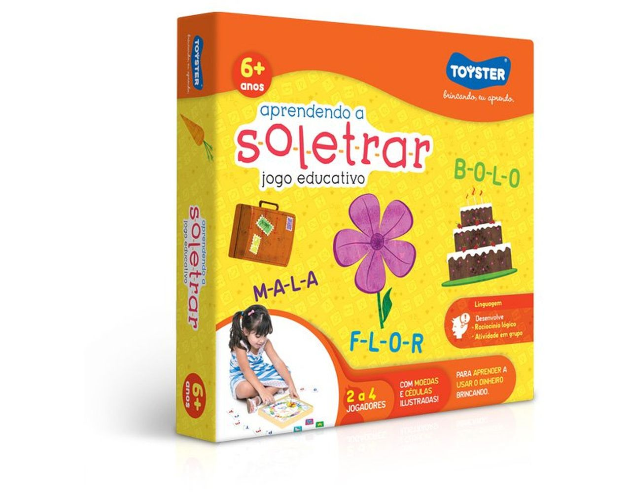 Jogo Educativo Apendendo A Soletrar - Toyster