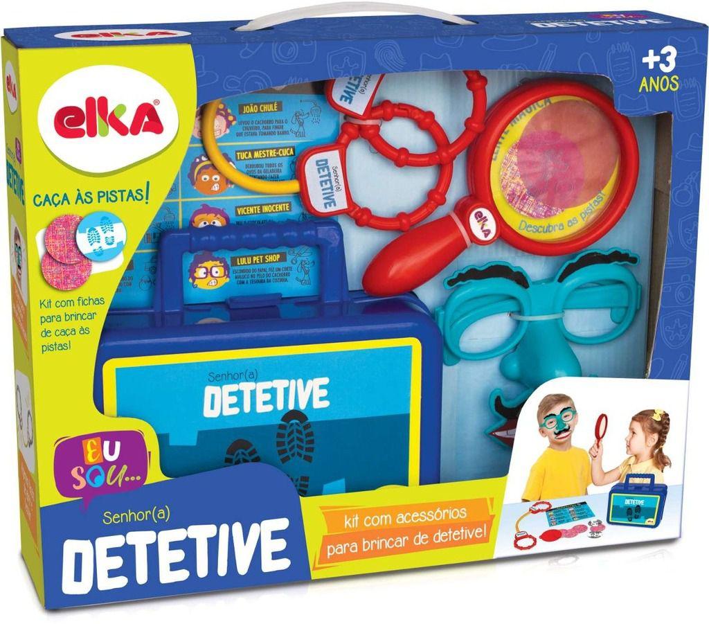 Jogo Infantil Maleta Do Senhor Detetive - Elka