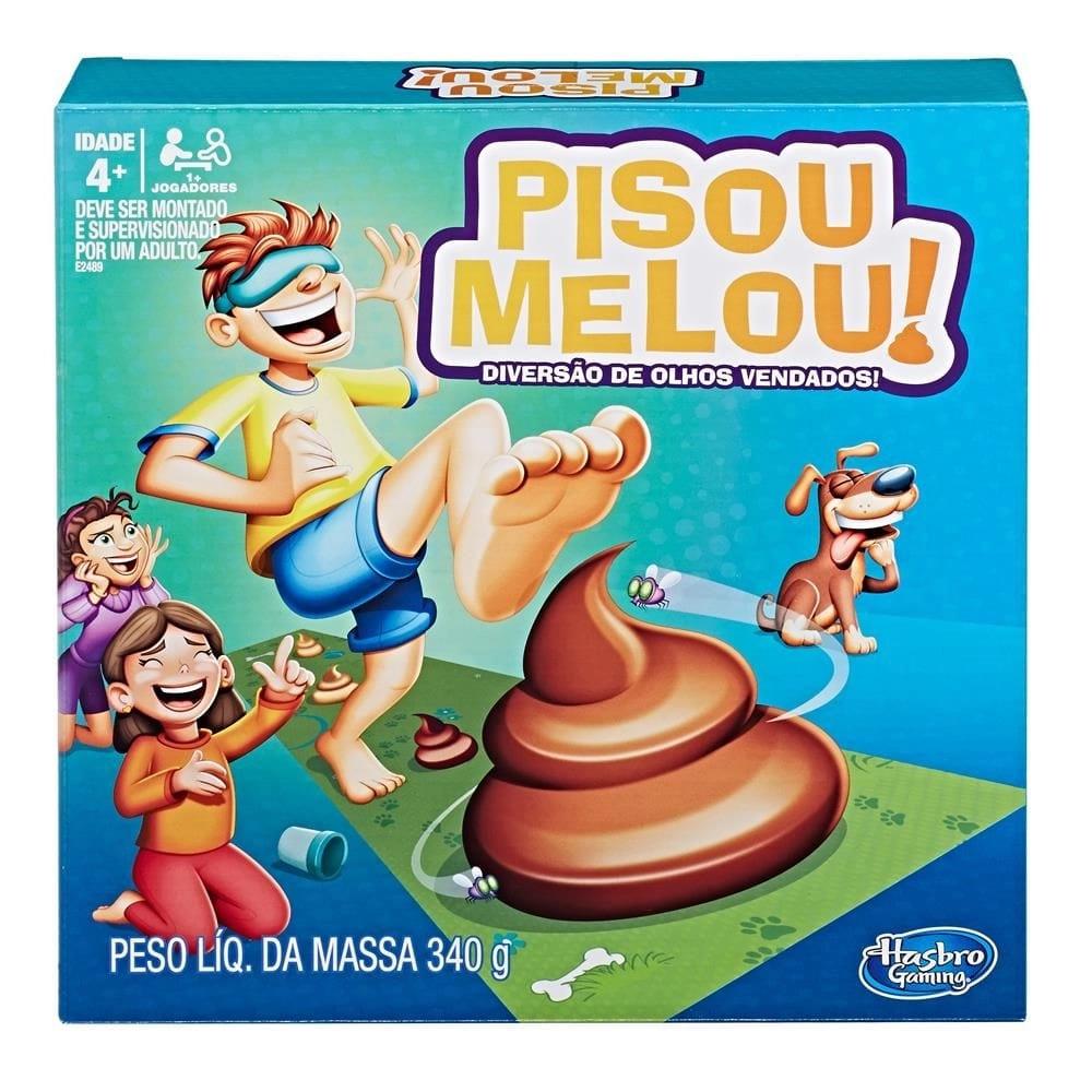 Jogo Pisou Melou Original - Hasbro E2489