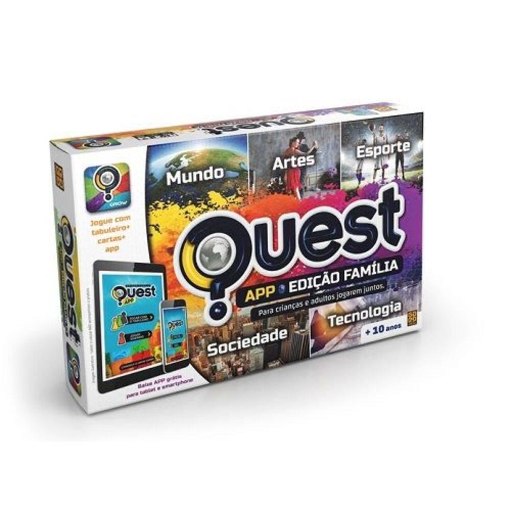 Jogo Quest Ediçao Familia GROW 3190