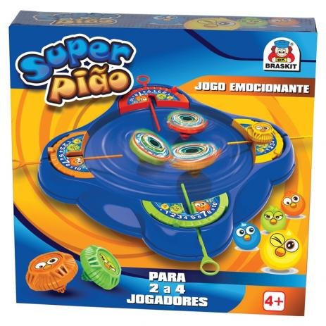 Jogo Super Pião - Braskit